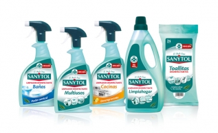 Bleach-free disinfectant cleaners